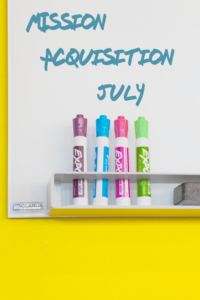 Mission Acquisition July
