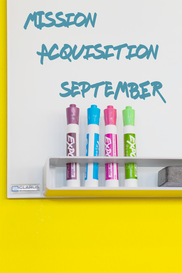 Mission Acquisition September